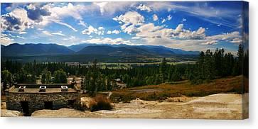 Fairmont Hot Springs Bc Canvas Print by JM Photography
