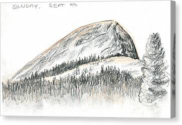 Fairview Dome Canvas Print by Logan Parsons
