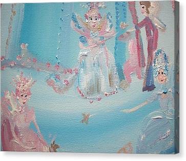 Fairy Godmother Convention Canvas Print by Judith Desrosiers