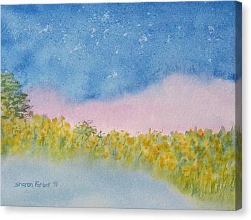 Fairy Mist Canvas Print by Sharon Farber