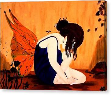 Fairy  Canvas Print by Nicole Champion