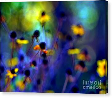Fairyland Painting Canvas Print by Andrea Kollo