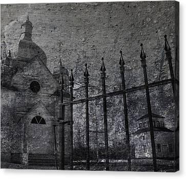 Faith Of Stone  Canvas Print by Jerry Cordeiro