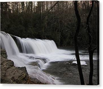 Faith Overflowing Canvas Print by Victoria Ashley