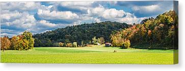 Fall Farm Canvas Print
