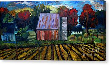 Fall Festival Re-photographed Canvas Print by Charlie Spear
