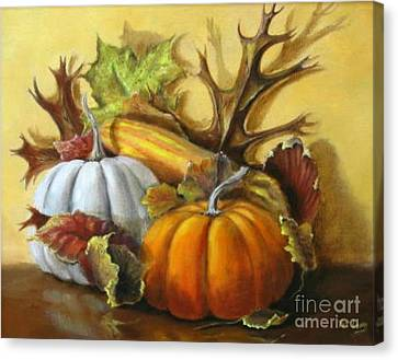 Fall Gatherings Canvas Print