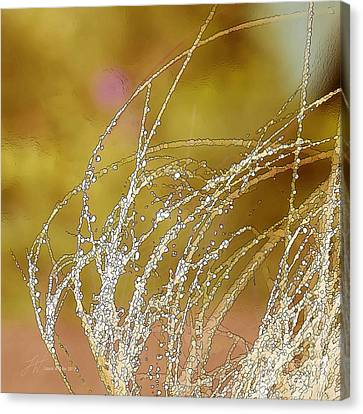 Fall Grass Canvas Print by Artist and Photographer Laura Wrede
