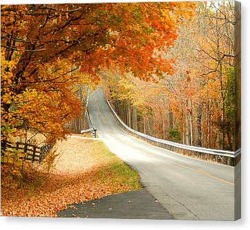 Fall In Kentucky Canvas Print