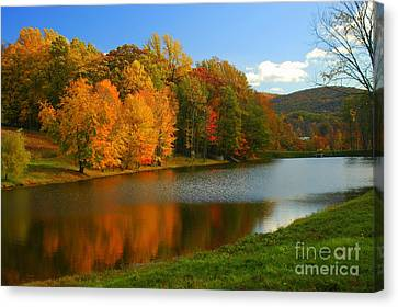 Fall In New York State Canvas Print