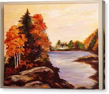 Fall Is Beatiful Canvas Print