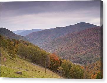 Fall Mountain Scene 3 Canvas Print