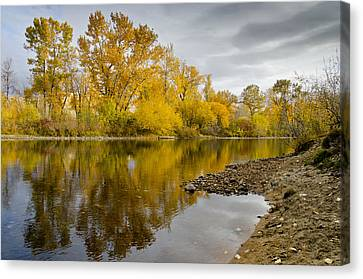 Fall River 1 Canvas Print