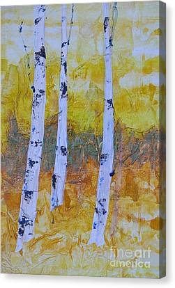 Fall Soldiers Canvas Print by Barbara Tibbets