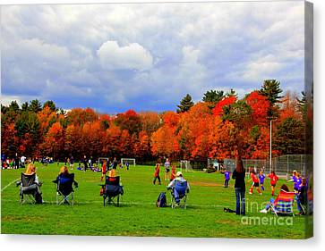 Fall  Sports Canvas Print