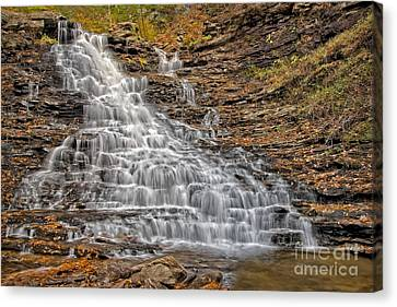 Falls Color Palette Canvas Print by Susan Candelario