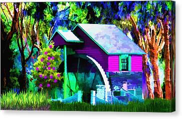 Falls Dream Canvas Print