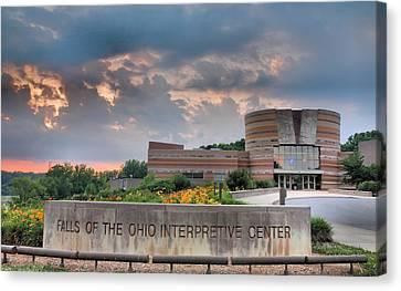 Falls Of The Ohio Interpretive Center I Canvas Print by Steven Ainsworth