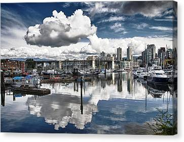 False Creek Vancouver Canvas Print