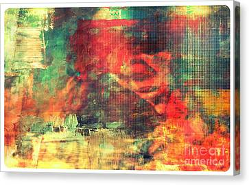 False Feeling Of Security Canvas Print