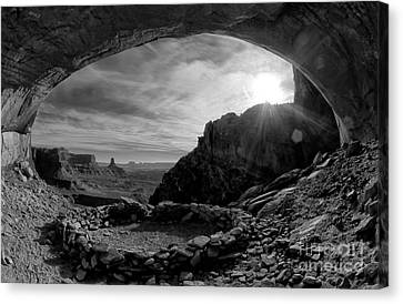 False Kiva Canvas Print by Keith Kapple
