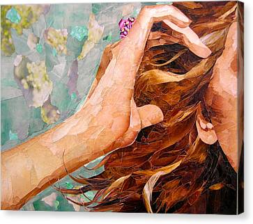 Familiar Gestures Canvas Print by Robin Birrell