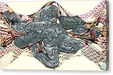 Family Faith Friends Swag Canvas Print