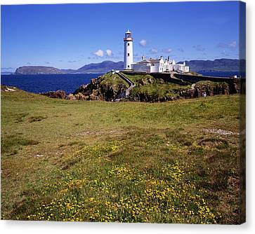 Fanad Lighthouse, Fanad Head, Co Canvas Print by The Irish Image Collection