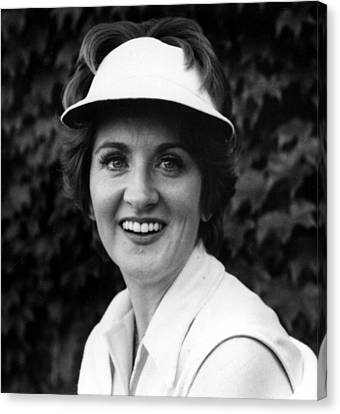 Fannie Flagg, Publicity Photo For Stay Canvas Print