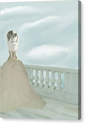 Fantasy Bride Canvas Print by Stacy Parker