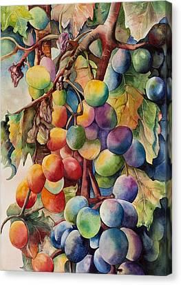 Fantasy Grapes Canvas Print