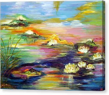 Fantasy Pond Canvas Print