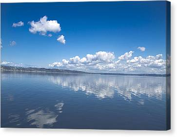 Faraway Clouds Canvas Print by Julie Smith