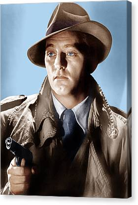 Farewell My Lovely, Robert Mitchum, 1975 Canvas Print by Everett