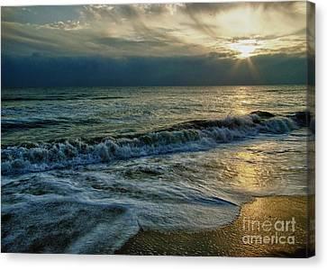 Farewell To The Sea Canvas Print