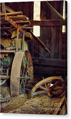 Farm Equipment Canvas Print