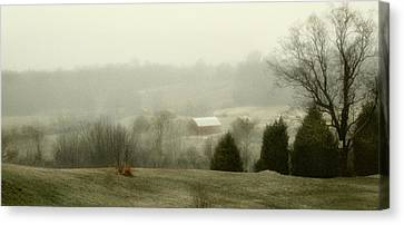 Farm Lands Canvas Print