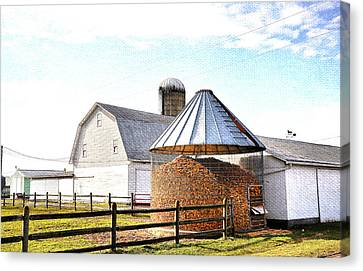 Farm Life Canvas Print by Todd Hostetter