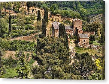 Farm Orvieto Italy Canvas Print
