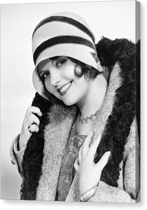 Fashion: Cloche Hat, 1929 Canvas Print by Granger