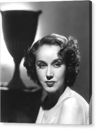 Fay Wray, Columbia Pictures, Ca. Late Canvas Print