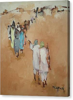Fear  Canvas Print by Negoud Dahab