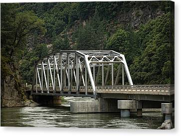 Feather River Bridge Canvas Print by Gary Rose