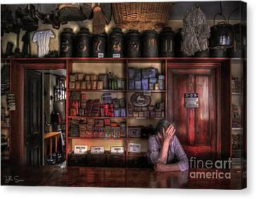 Fed Up Canvas Print by Yhun Suarez