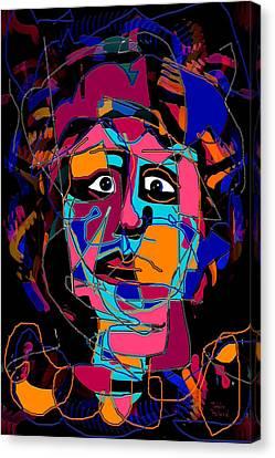 Feeling Blue Canvas Print by Natalie Holland
