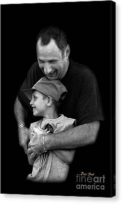 Feeling The Love Canvas Print by Dale   Ford