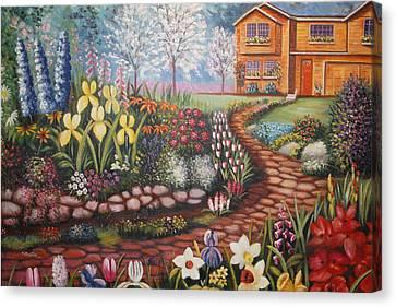 Feller's Dream Canvas Print
