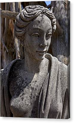 Female Statue Canvas Print