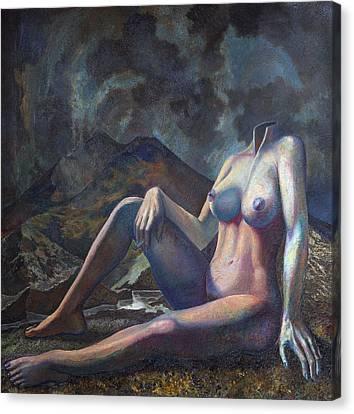 Female Suit Canvas Print by Fernando Alvarez