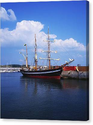Fenit, Co Kerry, Ireland Famine Ship Canvas Print by The Irish Image Collection